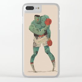 ...stings like a bee! Clear iPhone Case