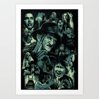 Art Print featuring Dream Warriors by FrightRags