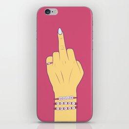 Dear Patriarchy iPhone Skin