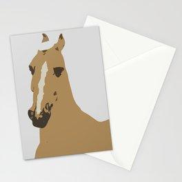 Abstract Palomino Horse Stationery Cards