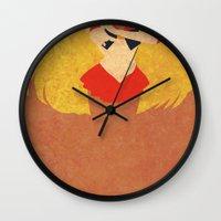 sailor venus Wall Clocks featuring Sailor Venus by JHTY