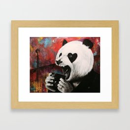 But first... Coffee Framed Art Print