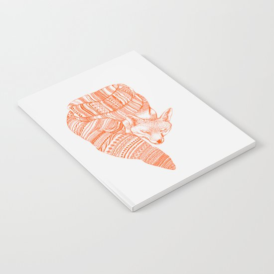 FOX IN THE SNOW Notebook