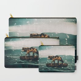 Drifting Upwards Carry-All Pouch