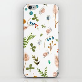Snails and Harebells iPhone Skin