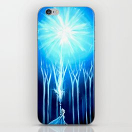 Ice Queen iPhone Skin