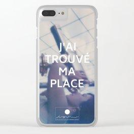 Paris (J'ai trouvé ma place) Clear iPhone Case