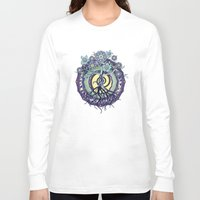 buddhism Long Sleeve T-shirts featuring Tree of Knowledge by DebS Digs Photo Art