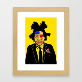 Jean Michelle Basquiat Framed Art Print