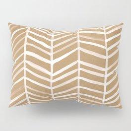 Kraft Herringbone Pillow Sham