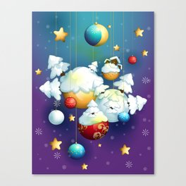 Christmas Spirit Canvas Print