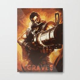 Graves Metal Print