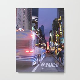 New York Sky is the Limit Metal Print