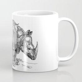 Durer- The rhinoceros. Coffee Mug