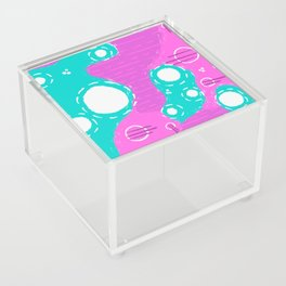 Psychadelic Abstract Acrylic Box
