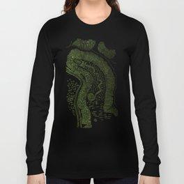 Great Serpent Mound Long Sleeve T-shirt