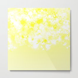 paint splatter on gradient pattern dbi Metal Print