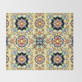 Rococo Starburst Throw Blanket
