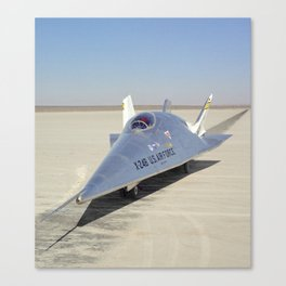 X-24B on Lakebed Canvas Print