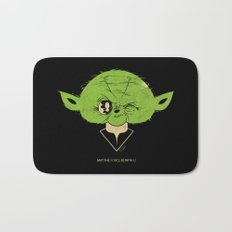 StarWars May the Force be with you (green vers.) Bath Mat