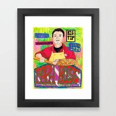 Papa Bless Framed Art Print