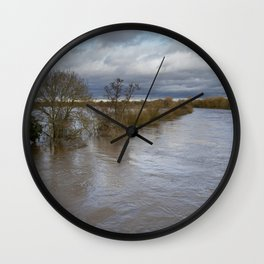 River Ouse Flooding Wall Clock