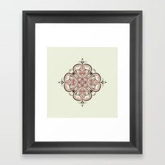 Second Heart Framed Art Print