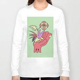 Picking flowers 2 Long Sleeve T-shirt