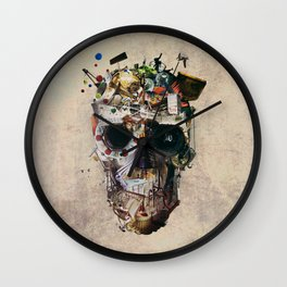 Istanbul Skull 2 Wall Clock