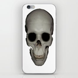 Human Skull Vector Isolated iPhone Skin