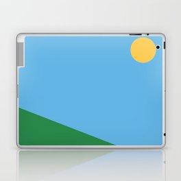 Minimal countryside landscape Laptop & iPad Skin