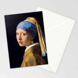 """Johannes Vermeer """"Girl with a Pearl Earring"""" Stationery Cards"""