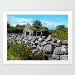 Coastal Ireland Art Print