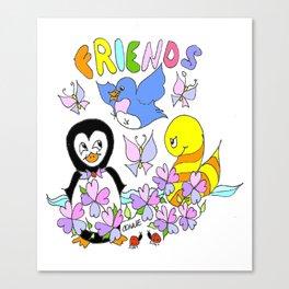 """Friends"" Canvas Print"