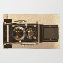Twin Lens Reflex Rug