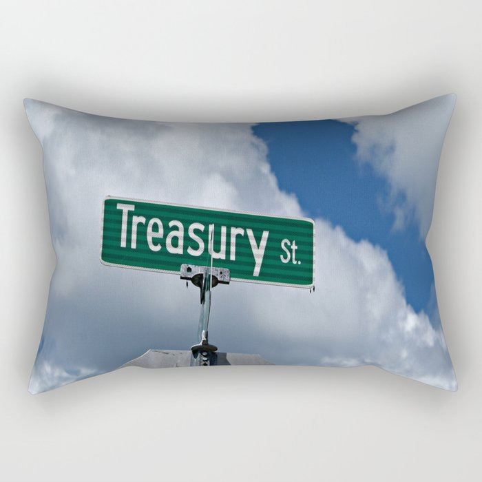 Treasury Street Rectangular Pillow