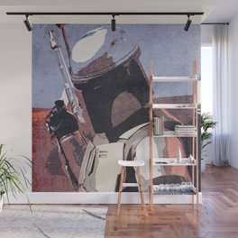 Bobba Fett | The Bounty Hunter | Star War Art Wall Mural