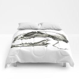 Cat Skull Comforters