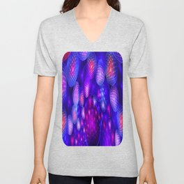 Poetry from Colliding Energy Unisex V-Neck
