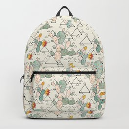 Prickly Pear Cacti and Triangles Backpack