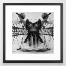 Retribution Framed Art Print