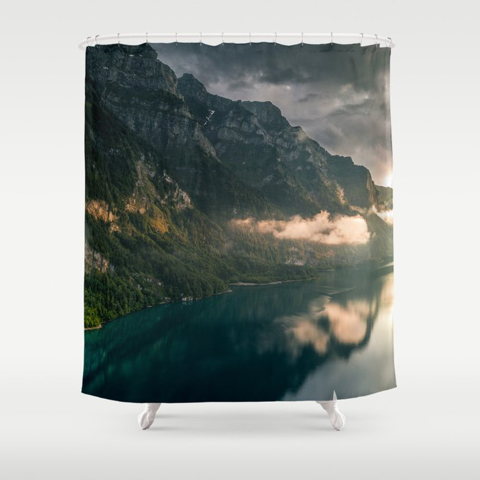 Swiss Beauty Shower Curtain