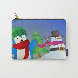 Snowy Pals Carry-All Pouch