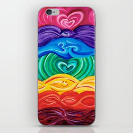 Chakra Art iPhone Skin