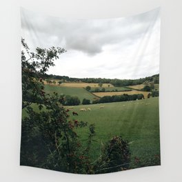 England rural landscape Wall Tapestry