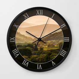 Sunny afternoon in Lake District Wall Clock