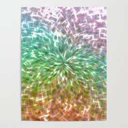 Rainbow Sparkler Poster