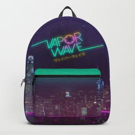 Future Funk Backpacks | Society6
