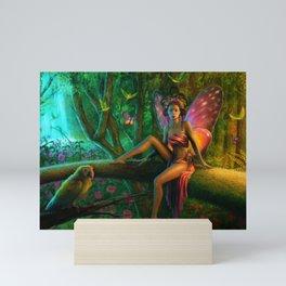 Exotic Butterfly Mini Art Print