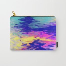 Neon Mimosa Inspired Painting Carry-All Pouch